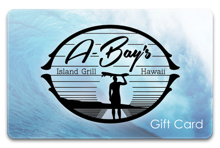 A-Bay's Island Grill Physical Gift Card